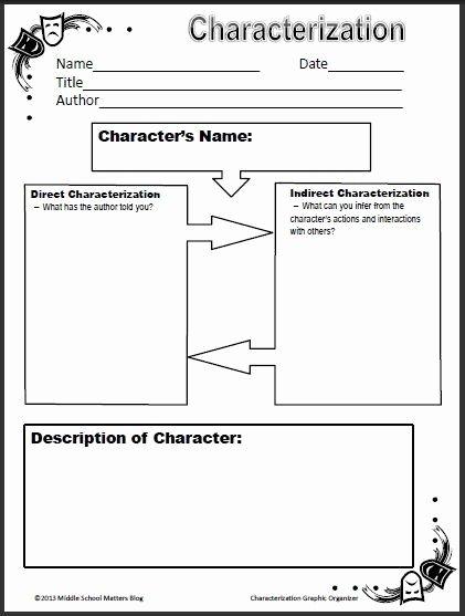Character Analysis Worksheet High School Printable Character Analysis Worksheet High School 55 Best Character