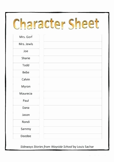Character Traits Worksheet 2nd Grade top Character Traits Worksheet 2nd Grade Character Worksheets