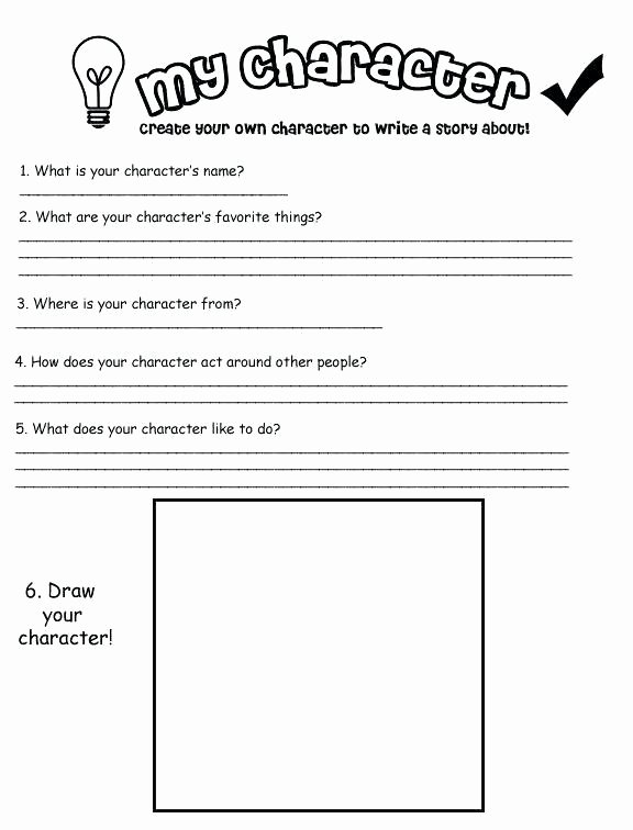 Character Traits Worksheet 2nd Grade top Character Traits Worksheet 2nd Grade Draw the Kitten
