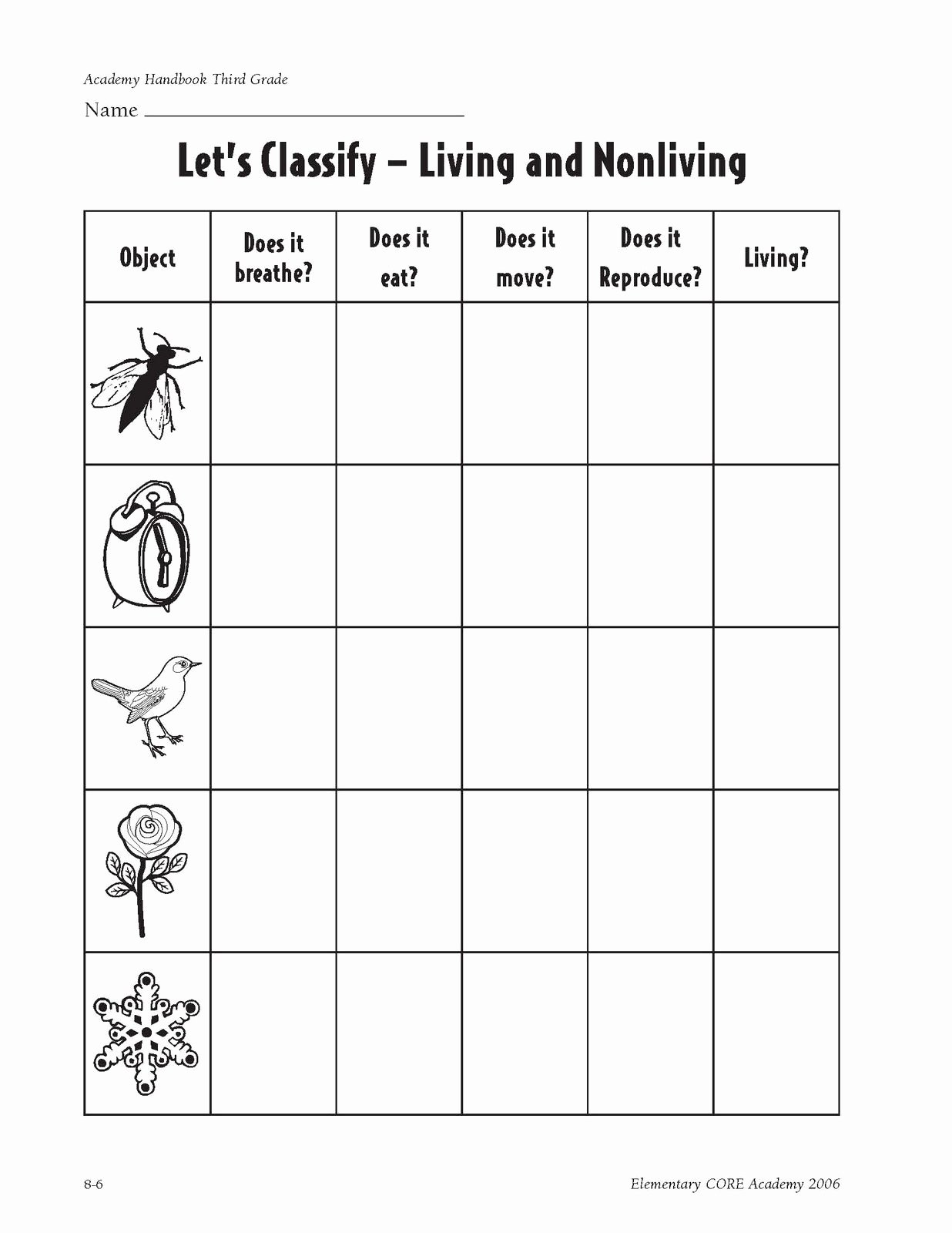 Characteristics Of Living Things Worksheet Kids Characteristics Of Living Things Made Of Cells Obtain and