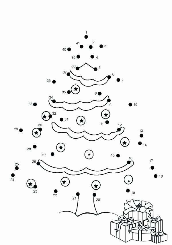 Christmas Connect the Dots Printable Best Of Dot to Dot Coloring Pages Connect the Dots as Well as Dot to