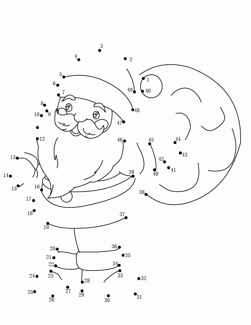 Christmas Connect the Dots Printables Free Dot to Dot Printables Best Coloring Pages for Kids