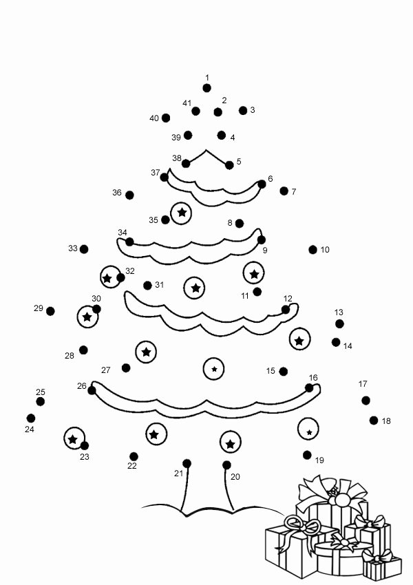 Christmas Dot to Dot Printables Kids Printable Christmas Games for Kids and Adults
