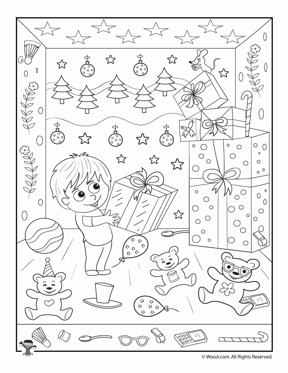 Christmas Hidden Picture Puzzles Printable New 10 Intriguing Christmas Hidden