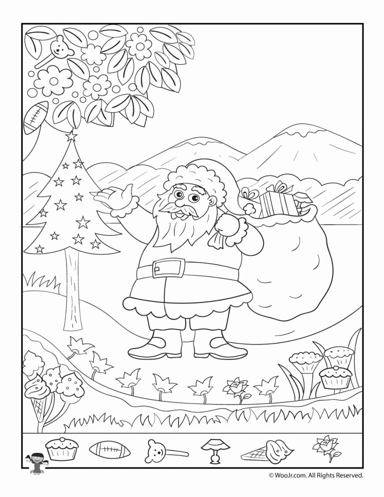 Christmas Hidden Picture Puzzles Printable Printable Christmas Hidden Printables for Kids