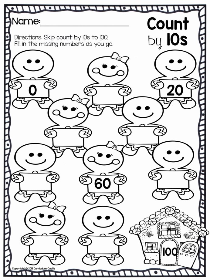 Christmas Math Worksheets for Kindergarten top Worksheet Best Counting Math Worksheets