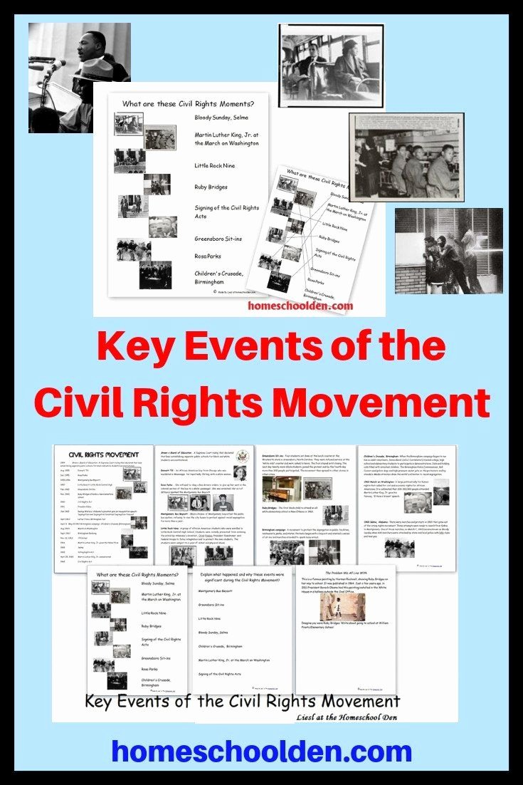 Civil Rights Worksheets Middle School top Civil Rights Worksheets Middle School Civil Rights Movement