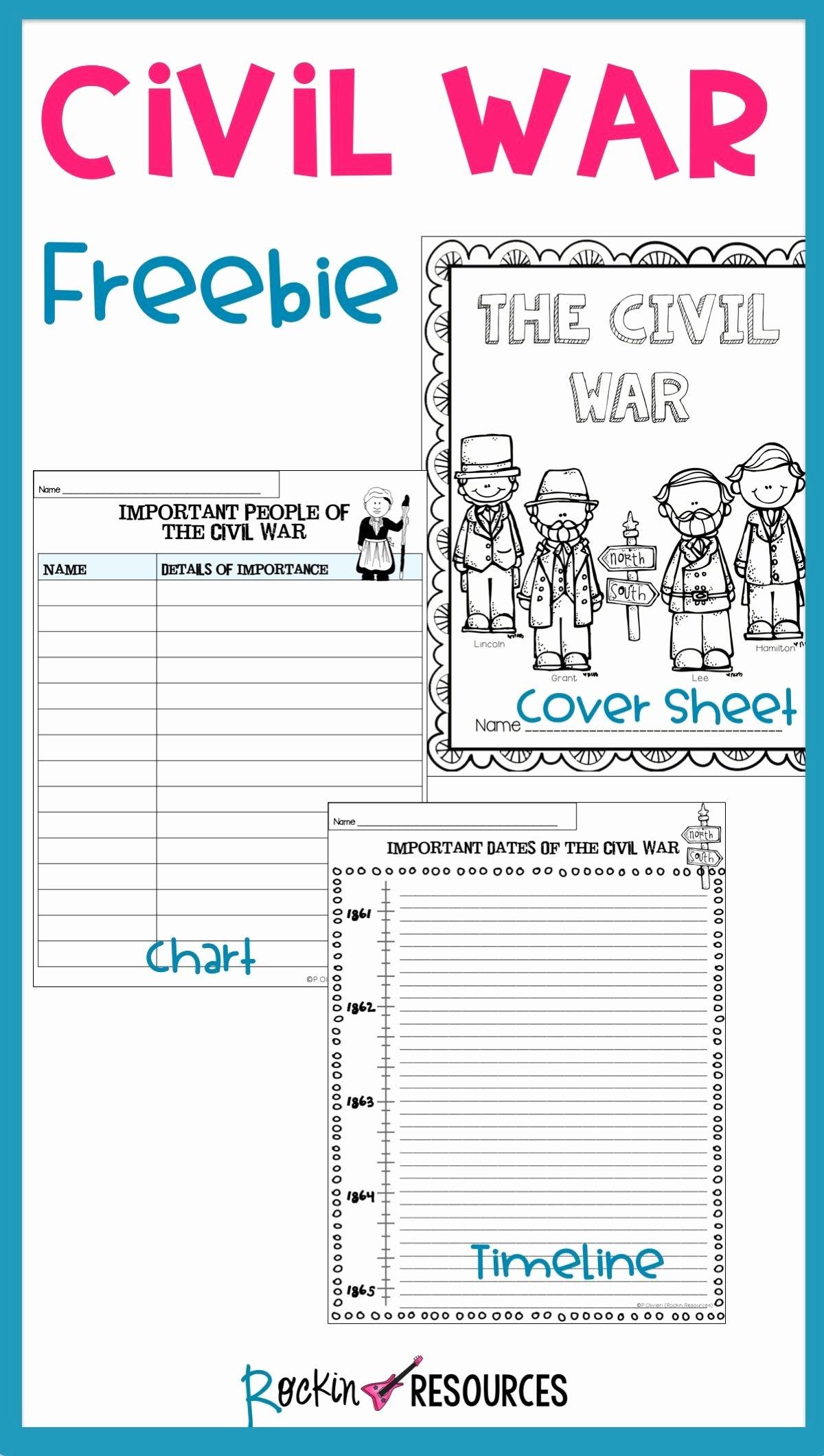 Civil War Worksheets 5th Grade Best Of Linear Causes the Civil War Worksheet