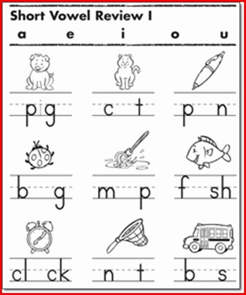 Ck Worksheets for 1st Grade Free Vowel Worksheets 1st Grade Project Edu Hash