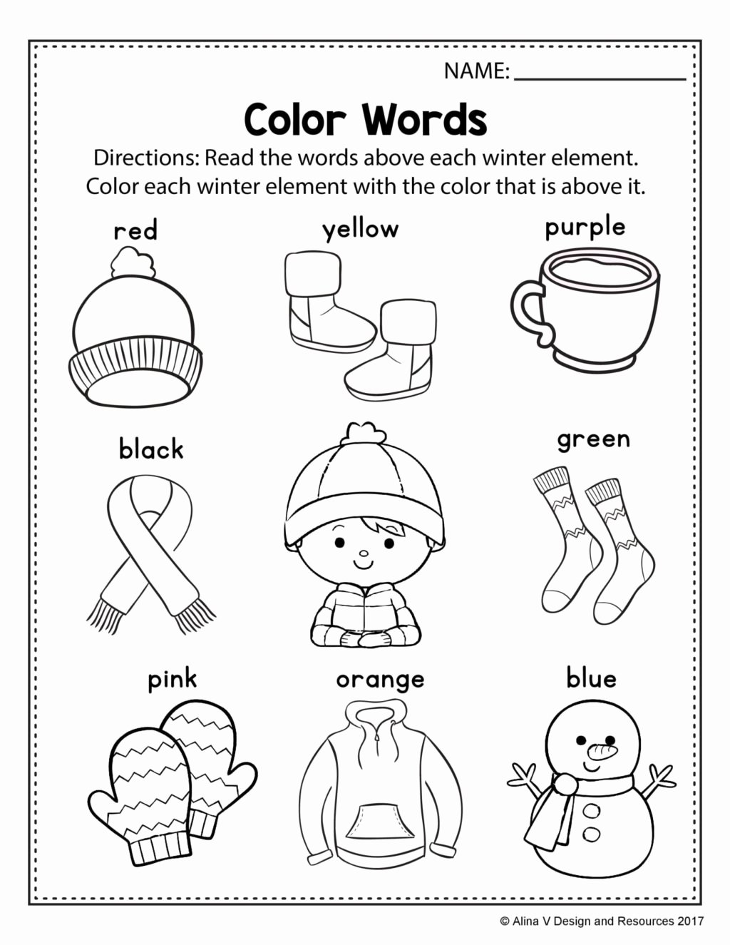 Color Blue Worksheets for Preschool Free Free Coloring Printables for Preschoolers Outstanding