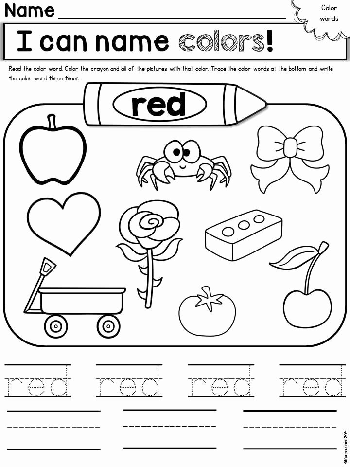 coloring pages colorheets printable page kindergarten colors staggering red for toddlers photo inspirations the
