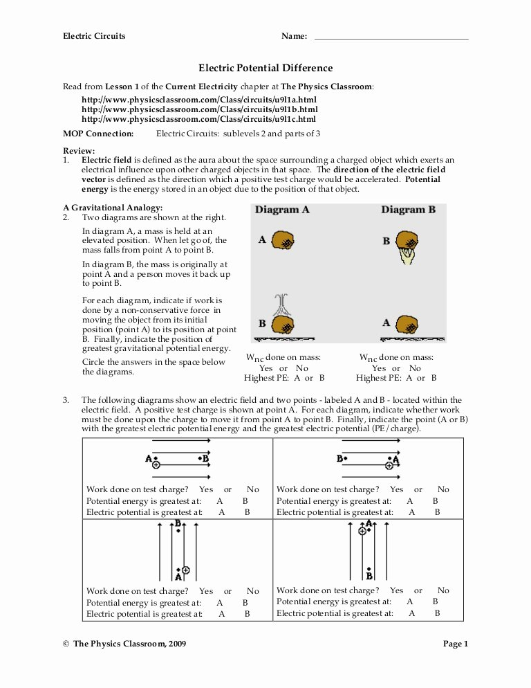 Combination Circuits Worksheet with Answers Inspirational Circuit Worksheets
