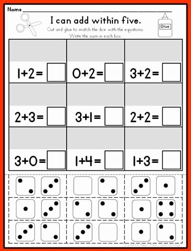 Common Core Kindergarten Math Worksheets Inspirational Pin by Marije On Kindergarten Math