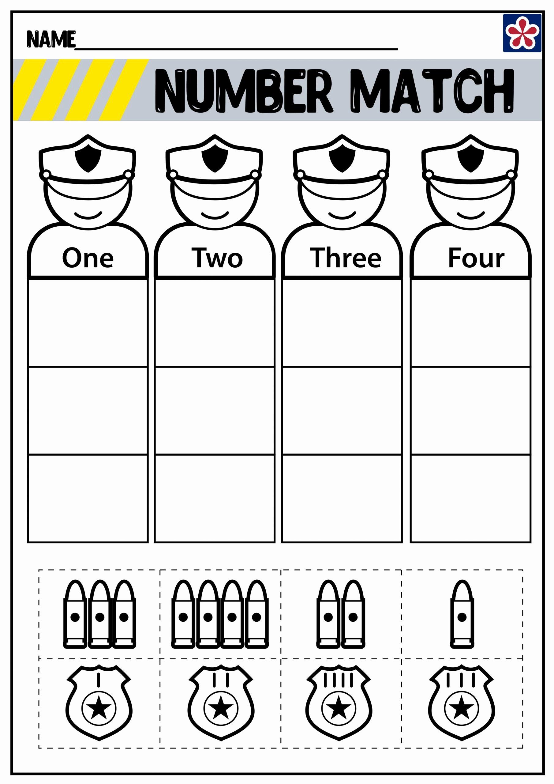 Community Helpers Worksheet for Preschool Free Newsflog Munity Helpers Worksheet for Preschool Police