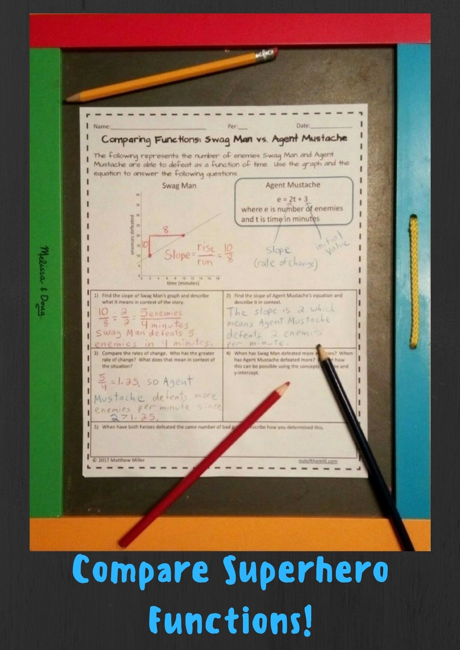 Comparing Functions Worksheet 8th Grade top Pin On Grade Worksheets & Sample Printables