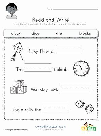 Complete Sentences Worksheet 1st Grade Ideas Plete the Sentences Worksheet