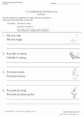 Complete Sentences Worksheet 4th Grade New Writing Sentences Worksheets 4th Grade – Keepyourheadup