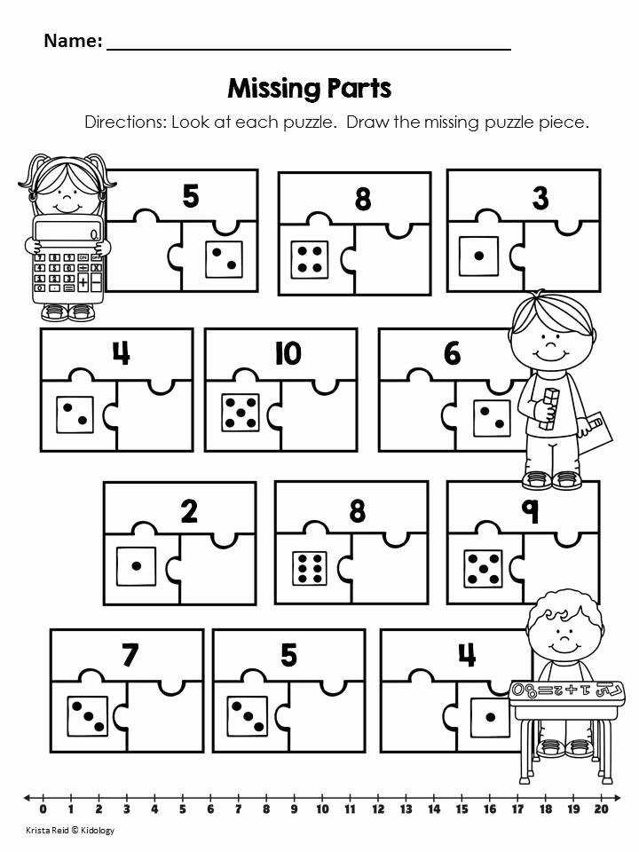 Composing and Decomposing Numbers Worksheet Kids Posing and De Posing Numbers Worksheet Addition Math