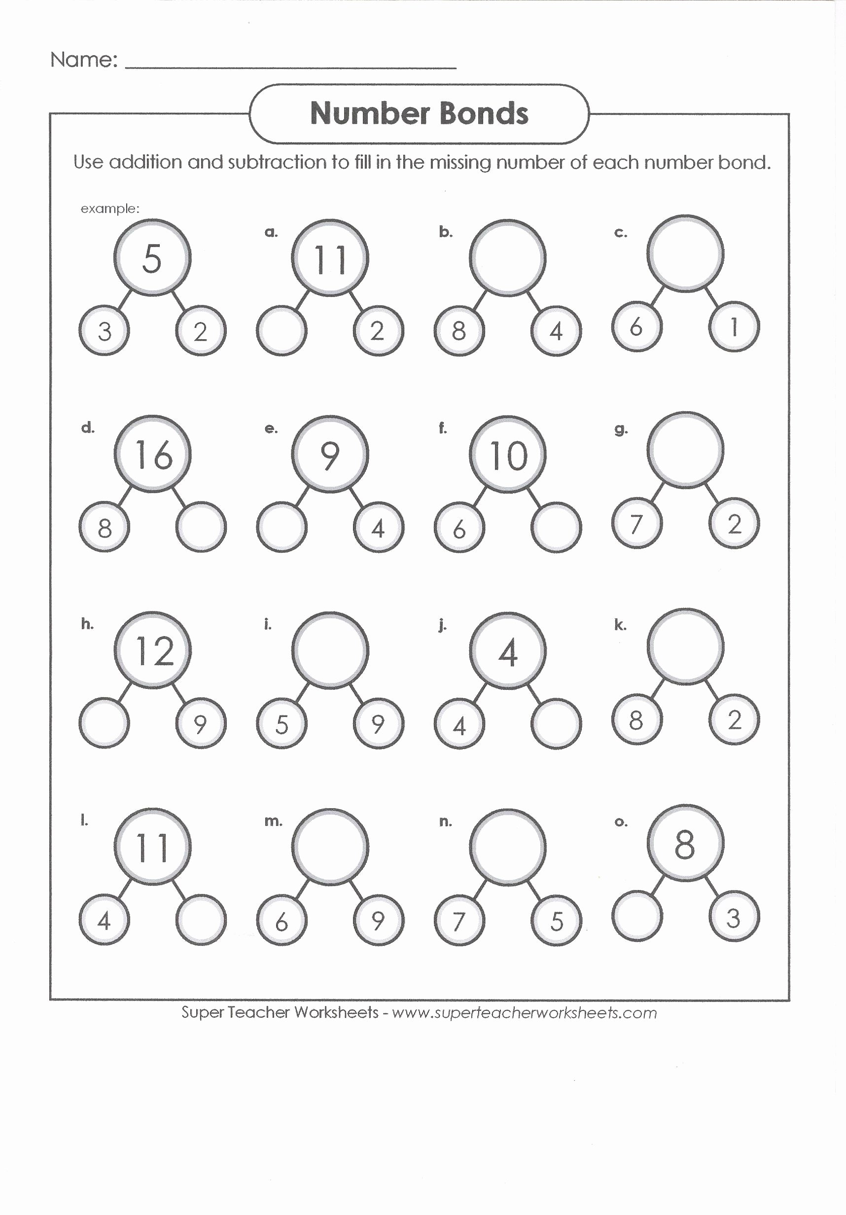 Composing and Decomposing Numbers Worksheet Printable Pin On Number Line Worksheet