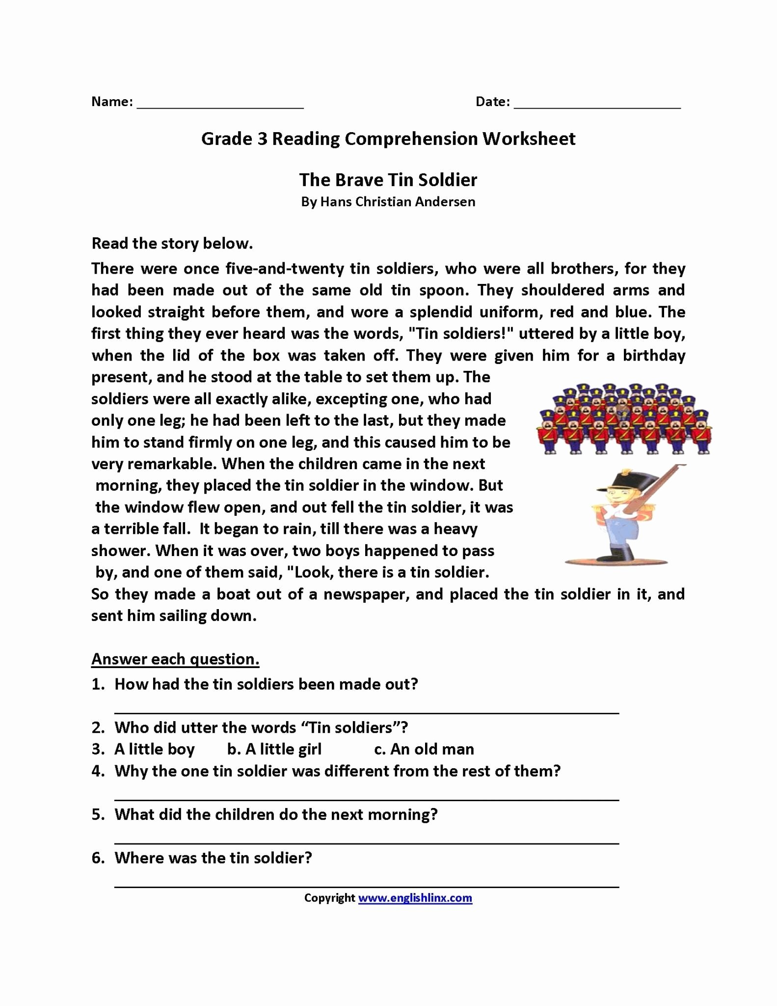Comprehension Worksheets for Grade 2 Kids Math Worksheet Tremendous Grade 2 Reading Prehension