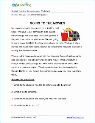 Comprehension Worksheets for Grade 6 top Free Reading Prehension Passages for Grade 6