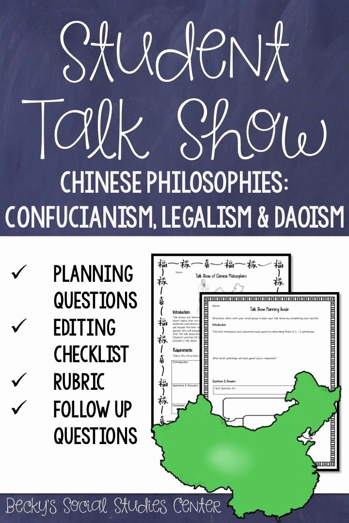 Confucius Worksheet for Middle School Kids Confucius Worksheet for Middle School In 2020