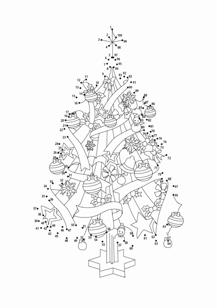 Connect the Dots Christmas Printables Ideas Connect the Dots Christmas Aeuwcu Eganewyear Free Printable
