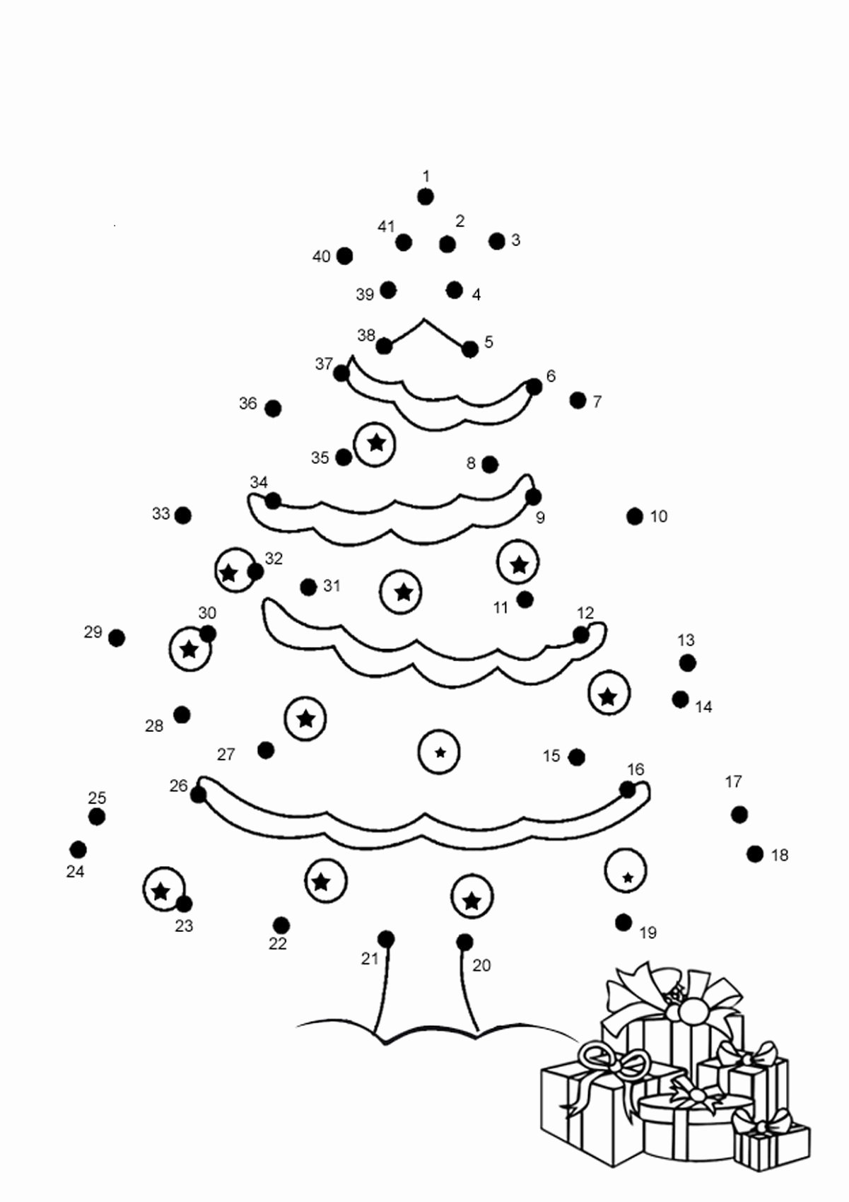 Connect the Dots Christmas Worksheets Best Of Dot to Dot for Kids In 2020