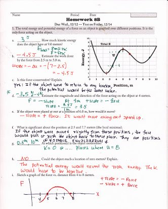 Conservation Of Energy Worksheet Answers Free Homework for Lab 5 Conservation Of Energy Answers