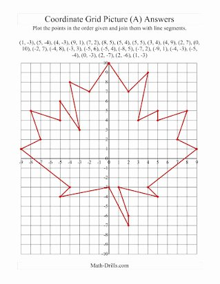 Coordinate Grid Pictures 5th Grade Free Free Coordinate Graph Picture Worksheets