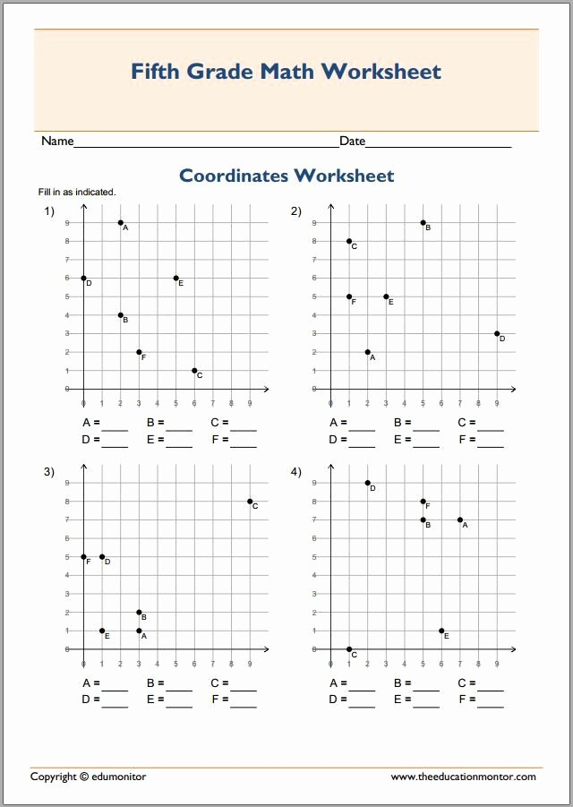 Coordinate Plane Worksheet 5th Grade Ideas Coordinate Grids Worksheets 5th Grade Plotting Points 5th