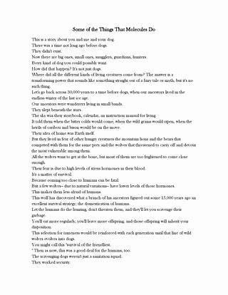 Cosmos Episode 1 Worksheet Answers Best Of some Of the Things that Molecules Do Episode 2 Cosmos by