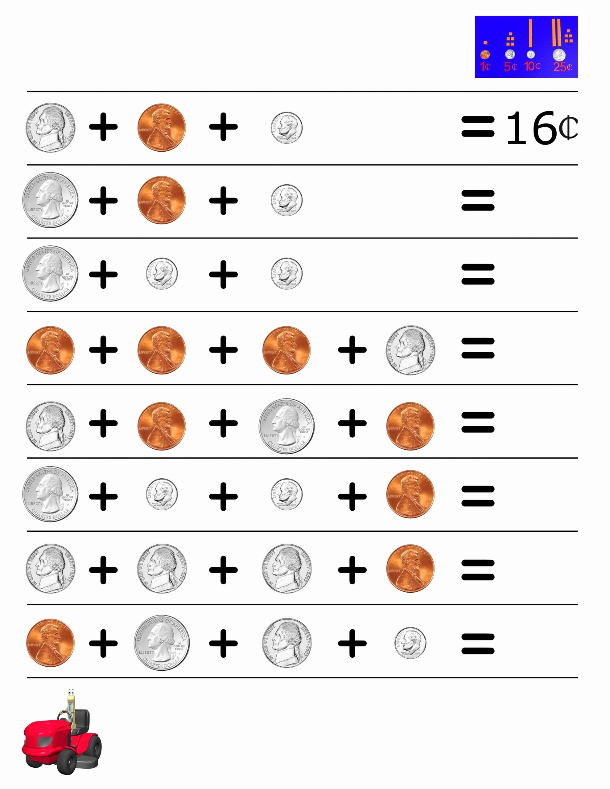 Counting Coins Worksheets 2nd Grade Ideas Money Worksheet for 2nd Grade Our Videos Help Reinforce