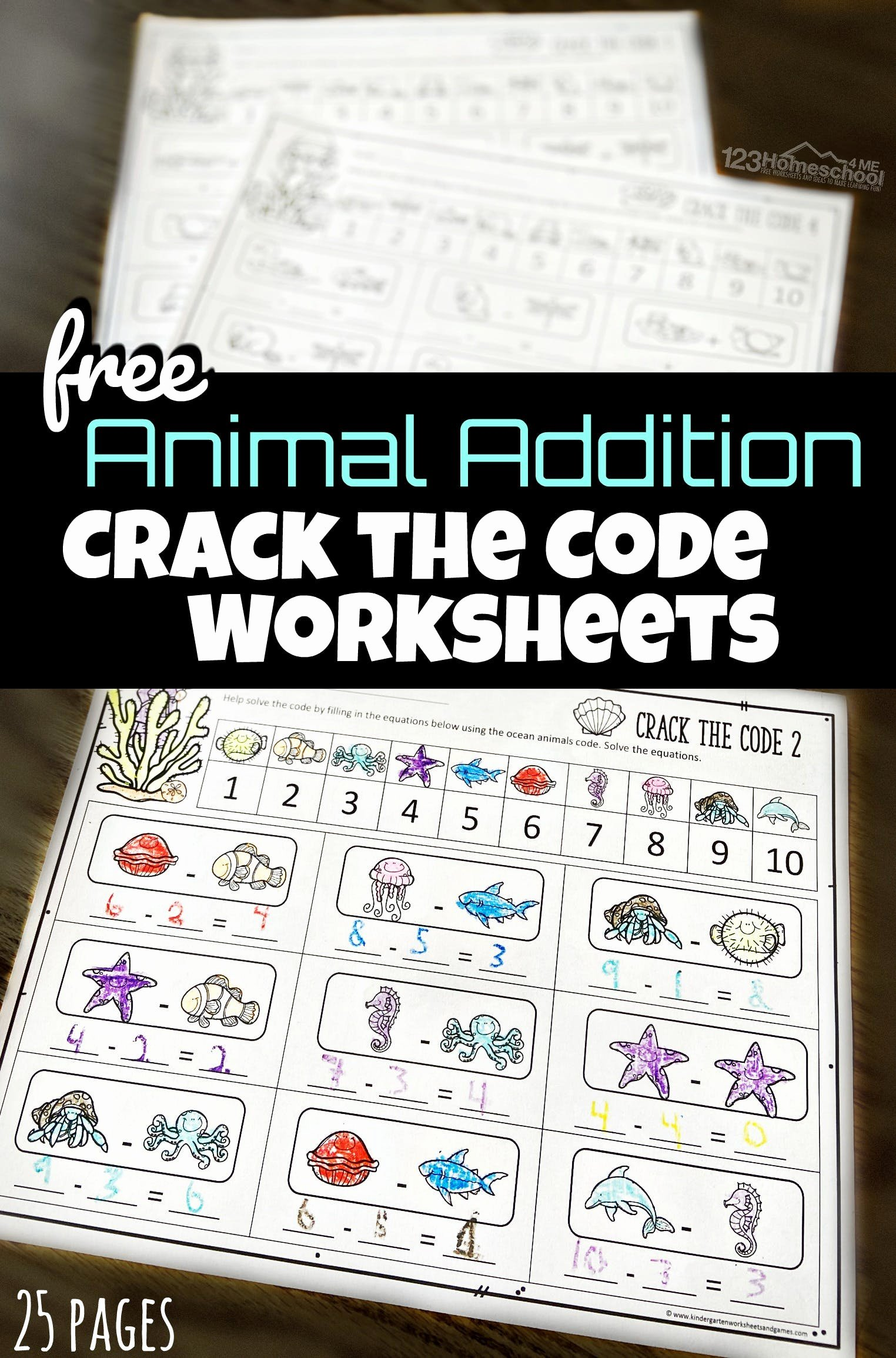 Crack the Code Worksheets Printable Inspirational Math Crack the Code Worksheets