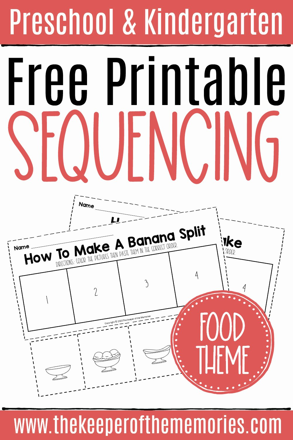 Cut and Paste Sequencing Worksheets top Free Sequencing Cut and Paste Worksheets the Keeper Of the