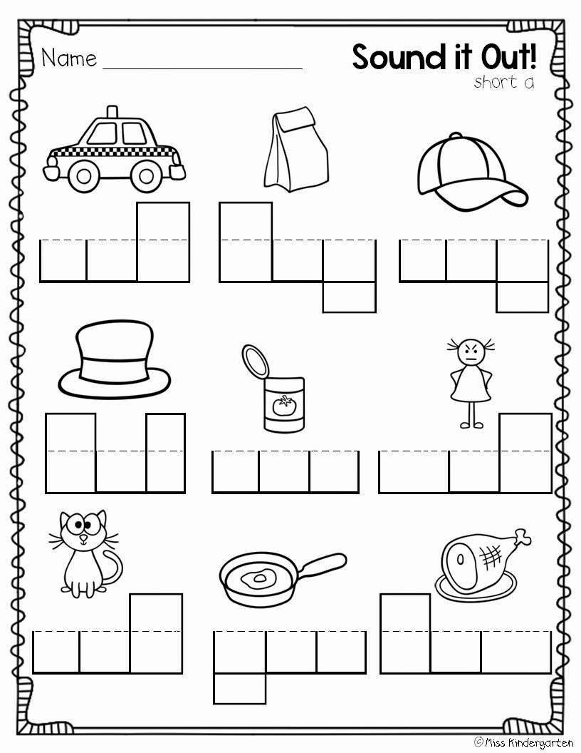 Cvc Cut and Paste Worksheets top Cvc Worksheet New 560 Cvc Worksheets for Kindergarten
