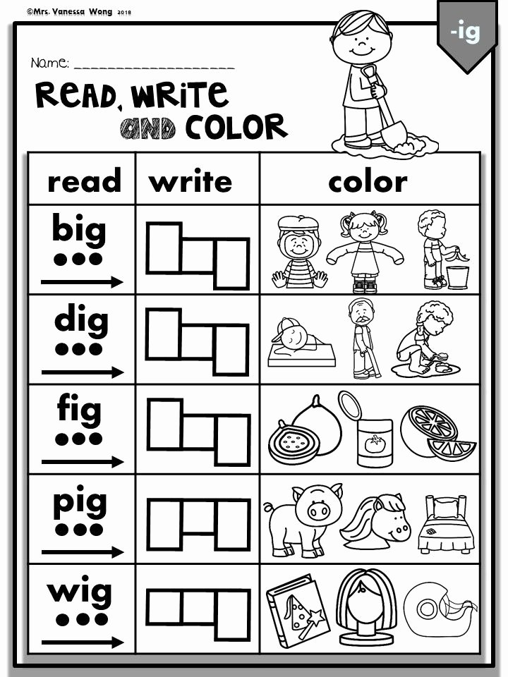 Cvc Worksheets for First Grade Best Of Cvc Worksheets Fun Activity to Learn Phonics Cvc