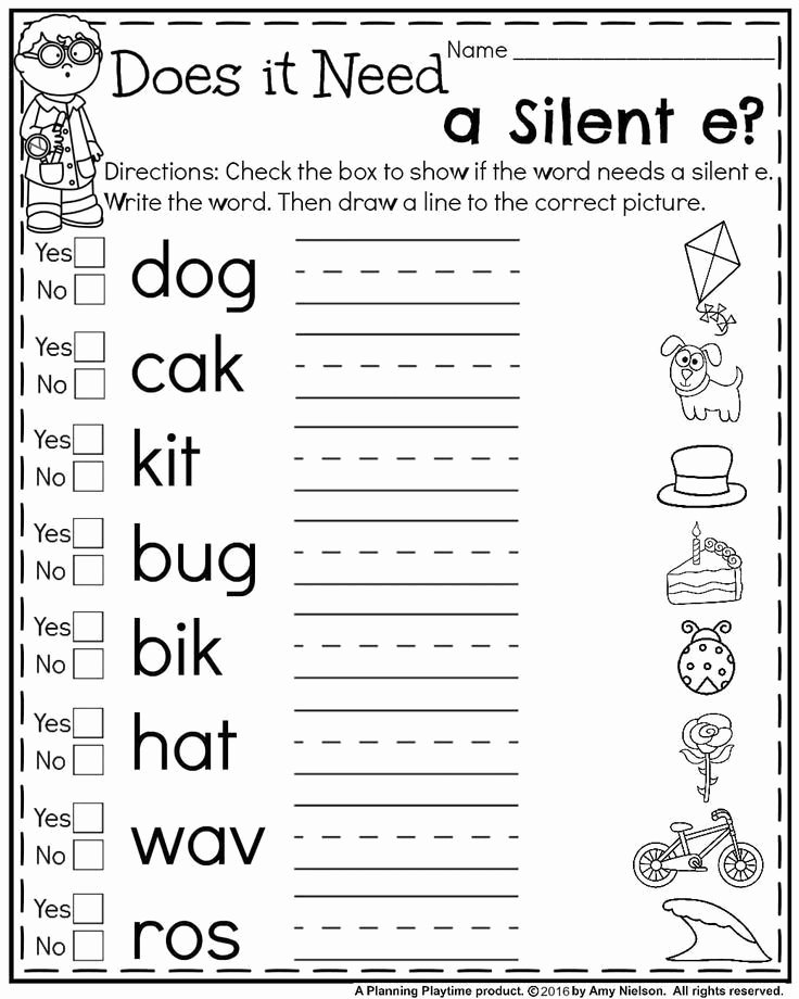 Decoding Worksheets for 1st Grade Best Of Decoding Worksheets for 1st Grade First Grade Summer