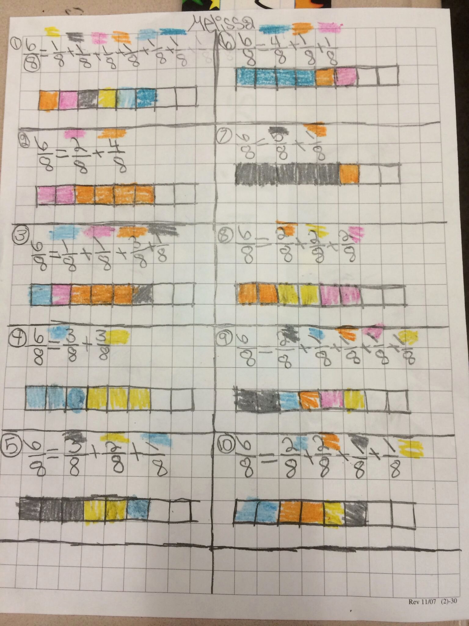 Decomposing Fractions 4th Grade Worksheet Kids Pin by Allison N Sam Hodges On 4th Grade