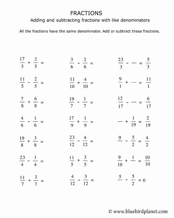 Decomposing Fractions Worksheets 4th Grade Lovely 4th Grade Fractions Worksheets Pdf