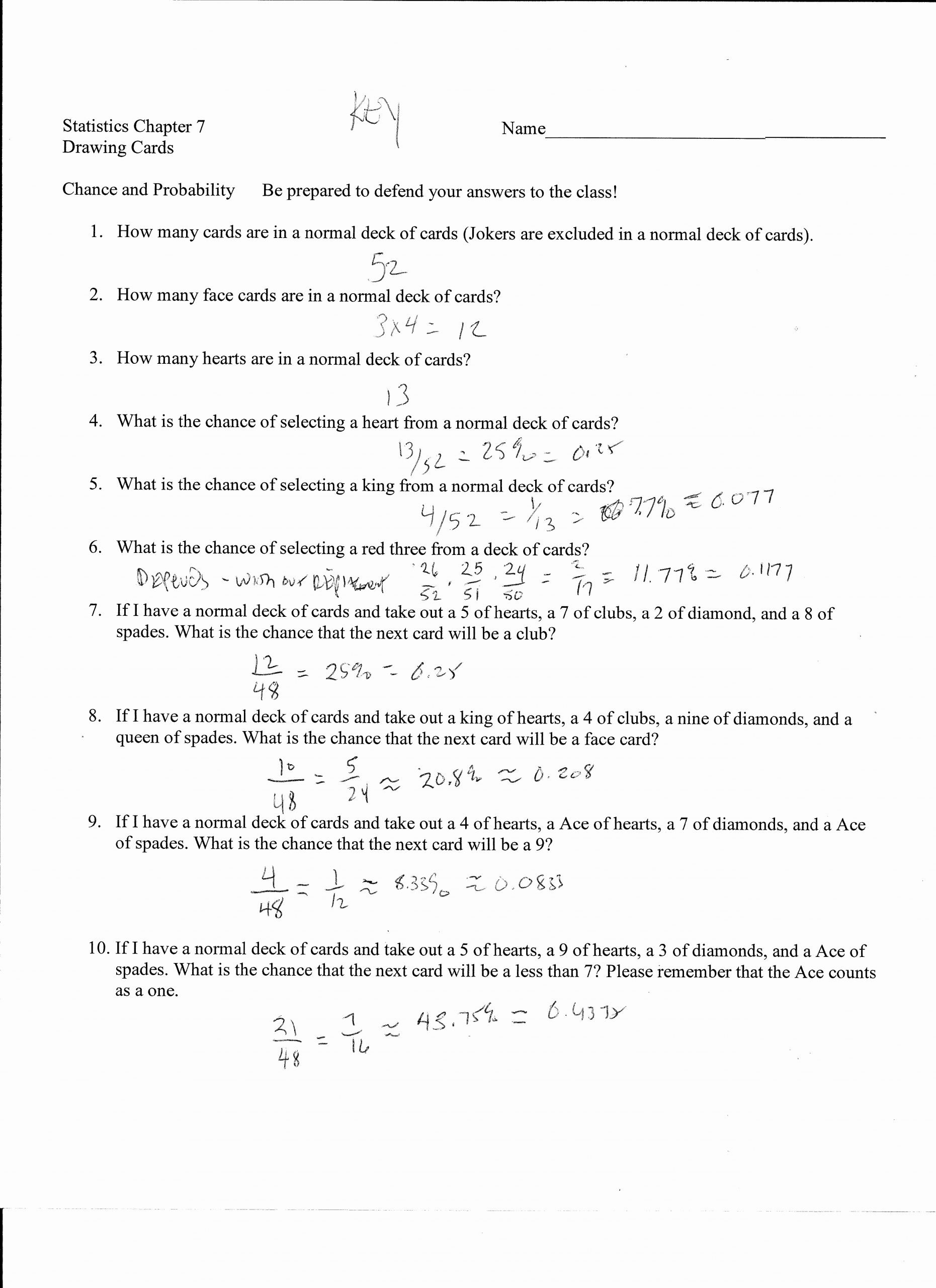 Dependent Probability Worksheet with Answers Best Of Addition Rules and Multiplication Rules for Probability