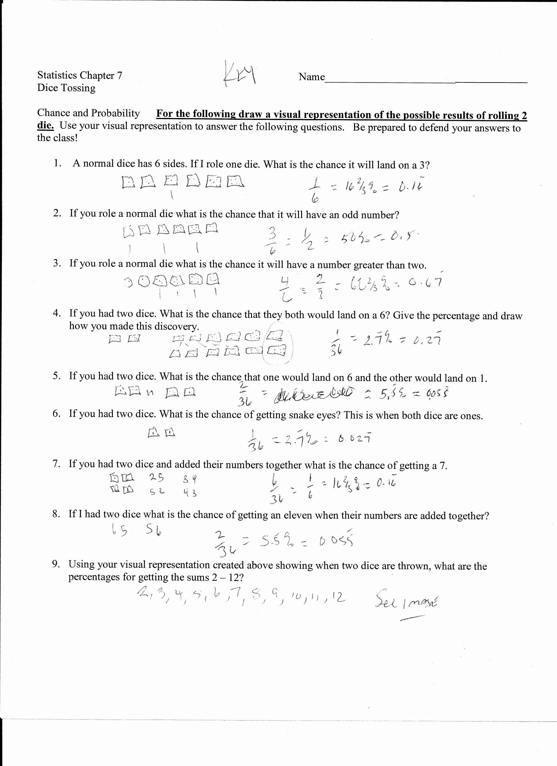 Dependent Probability Worksheet with Answers Lovely Worksheet Works Probability Word Problems