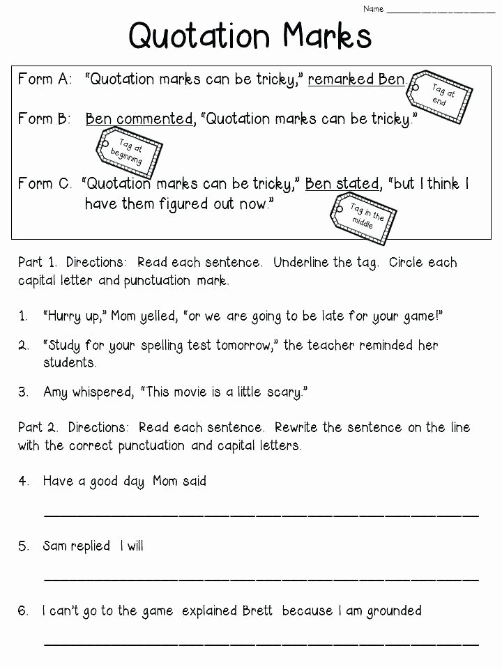 Dialogue Worksheets for Middle School Inspirational Language Arts Worksheets for Middle School – Keepyourheadup