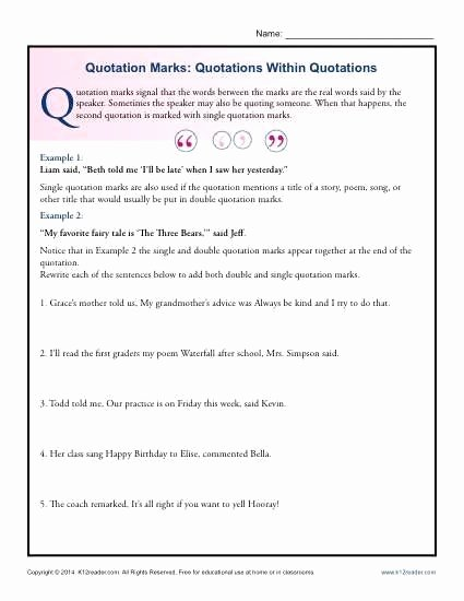 Dialogue Worksheets for Middle School New Pin On Examples Printable Preschool Worksheets