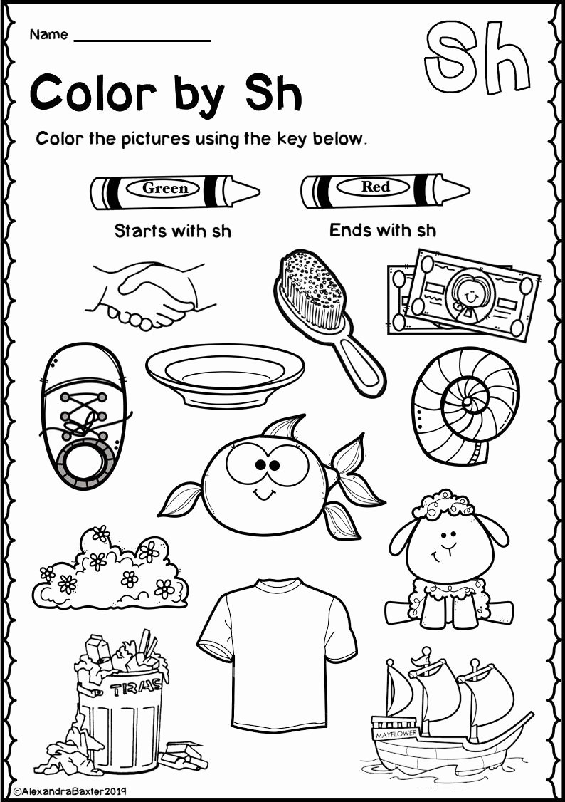 Digraph Worksheets for First Grade Kids Math Worksheet Math Worksheet Th Digraph Worksheets First