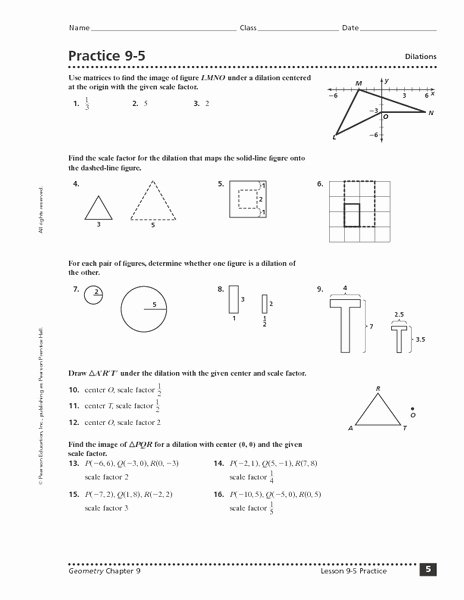 Dilations and Scale Factor Worksheet Ideas 32 Dilations and Scale Factor Worksheet Worksheet Resource