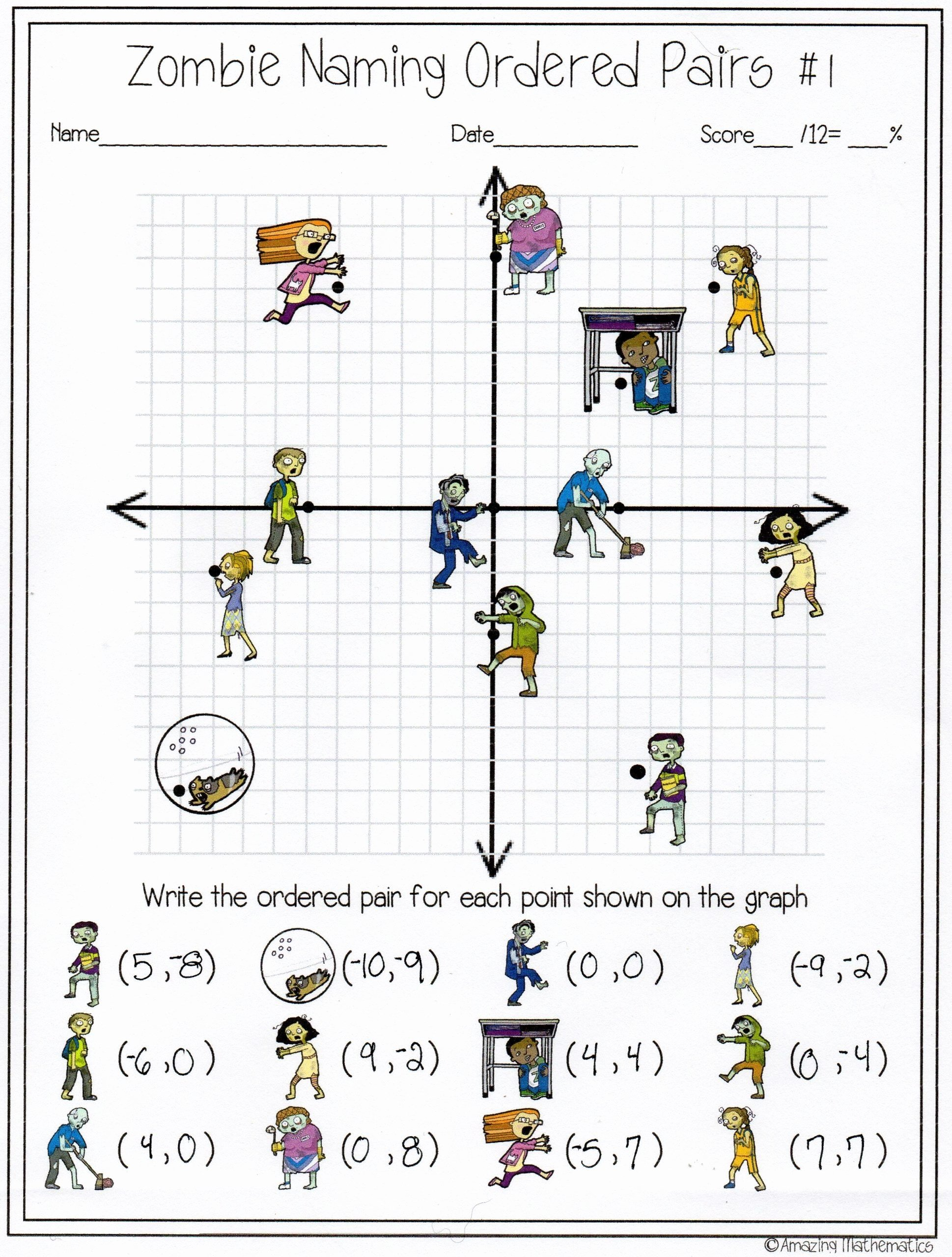 Distance and Midpoint Worksheet Answers top Distance and Midpoint Worksheet Answers Zombie Naming