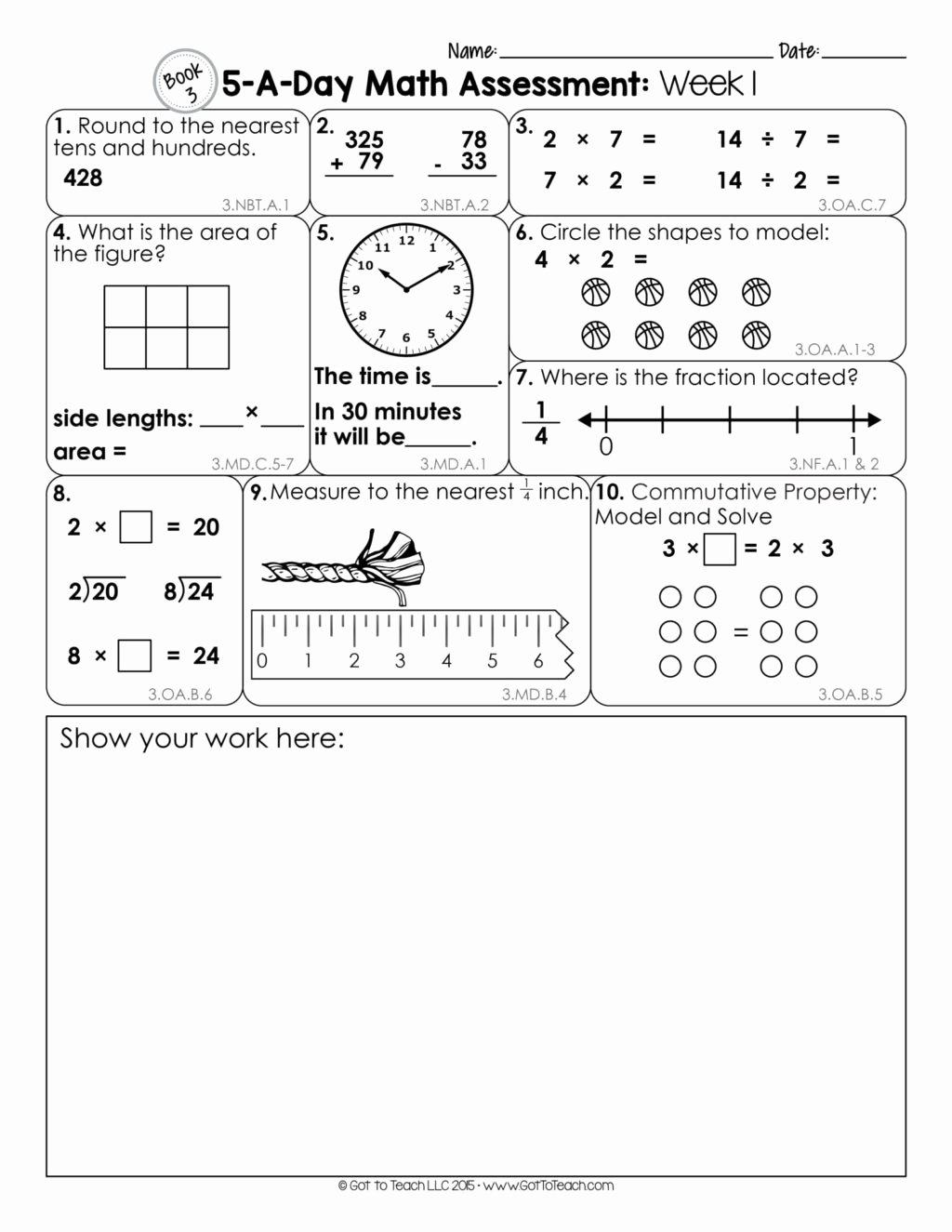 Distributive Property 3rd Grade Worksheets Printable Worksheet Printable Third Grade Worksheets Work Packets