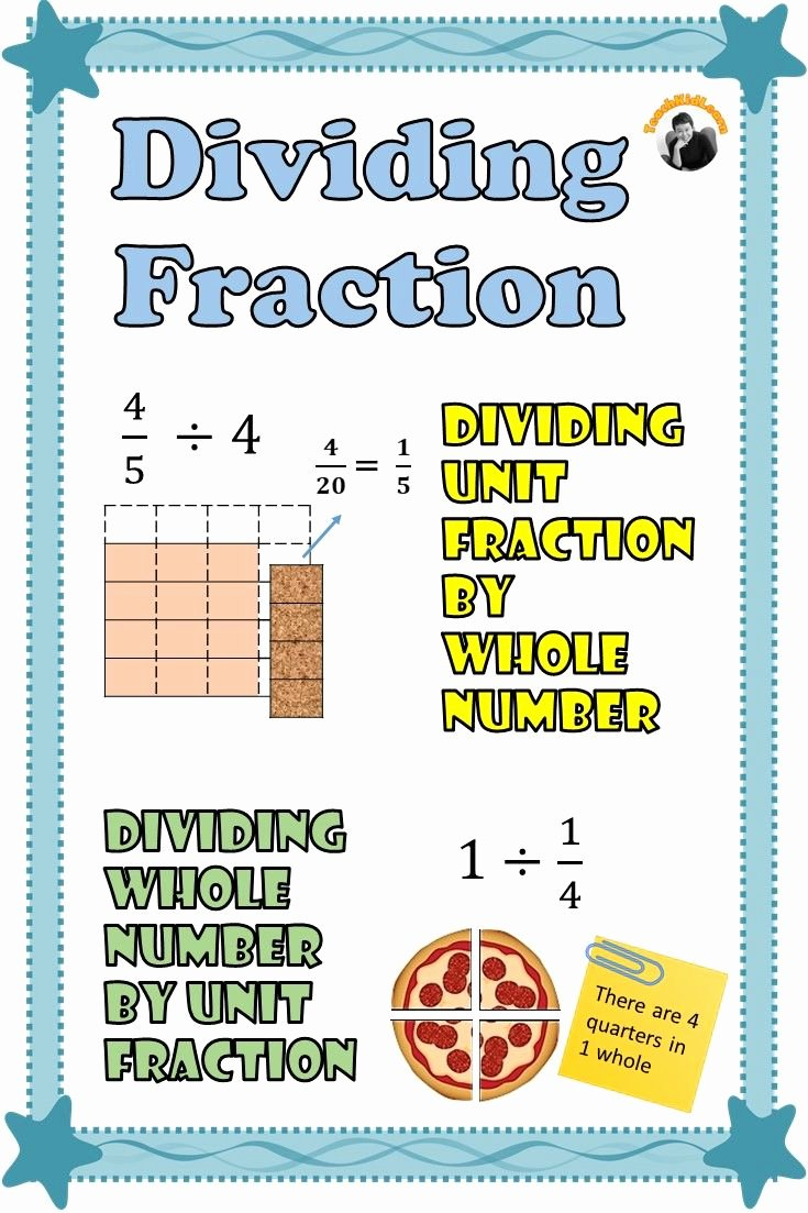 Dividing Fractions Using Models Worksheet Printable 5th Grade Fractions Worksheets Examples with Visual