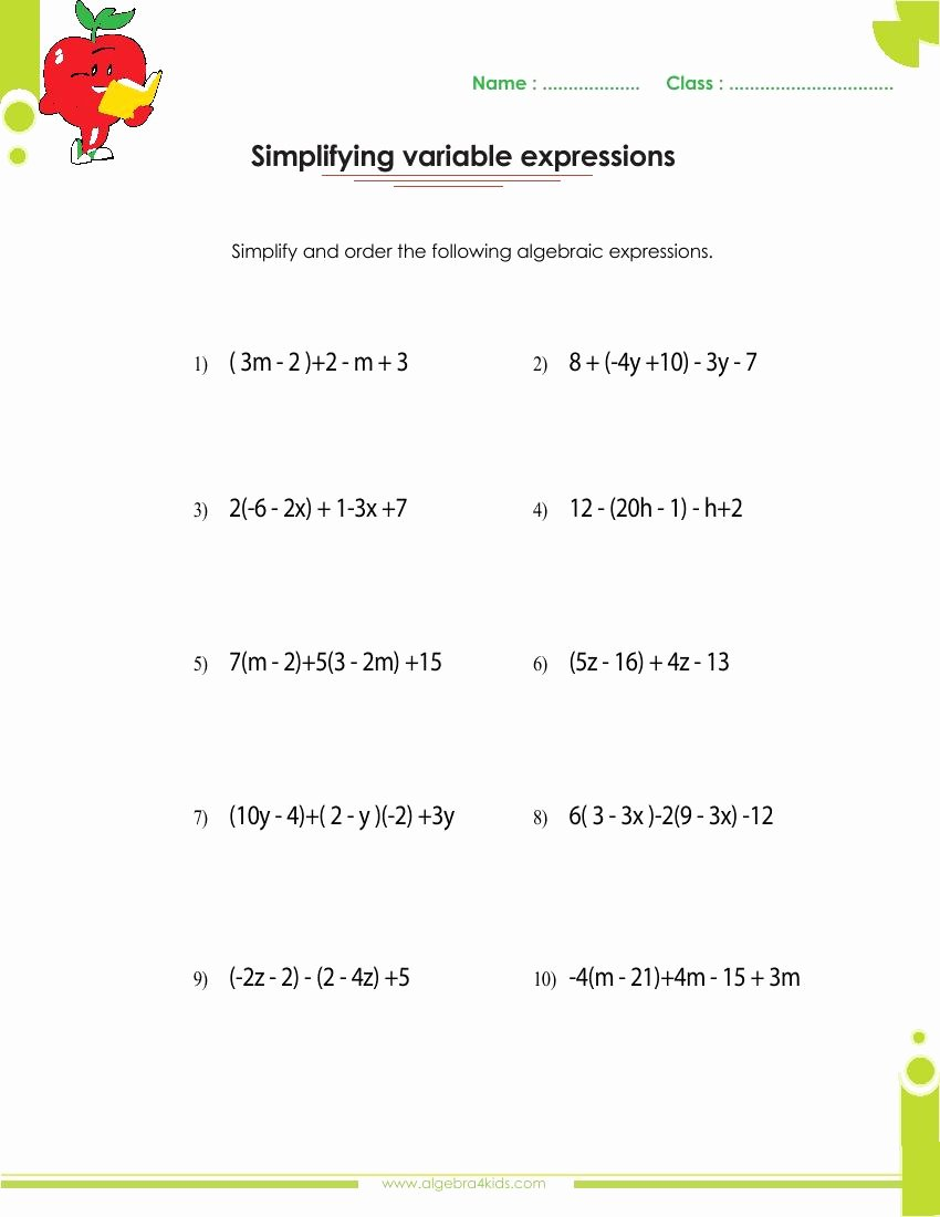 Dividing Polynomials by Monomials Worksheet Lovely Factoring Polynomials Worksheets with Answers and Operations